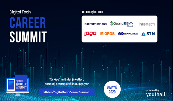 Youthall'da DİJİTAL ETKİNLİKLER - Digital Tech Career Summit